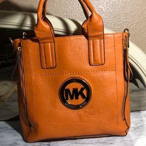 Expandable Orange Michael Kors Bag (Large)